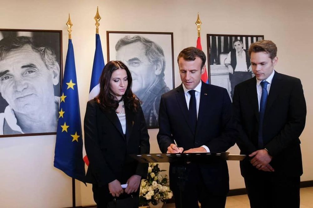 N. Aznavour's letter to the French President E. Macron - Armenian National Music (anmmedia.am)