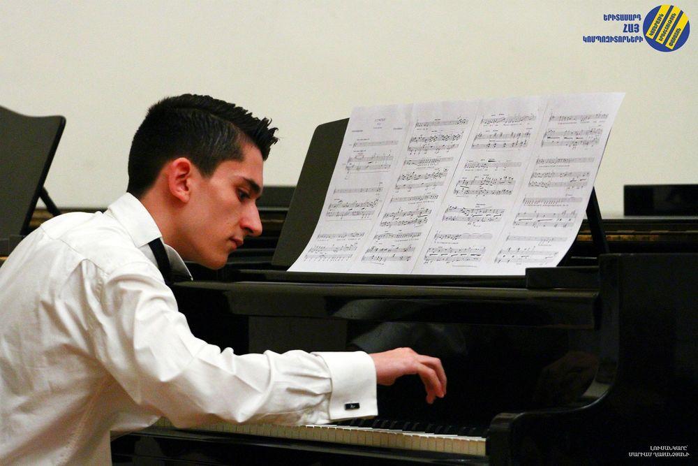 Սևան Ղարիբյանը՝ միջազգային կոմպոզիտորական մրցույթիմրցանակակիր - Armenian National Music (anmmedia.am)