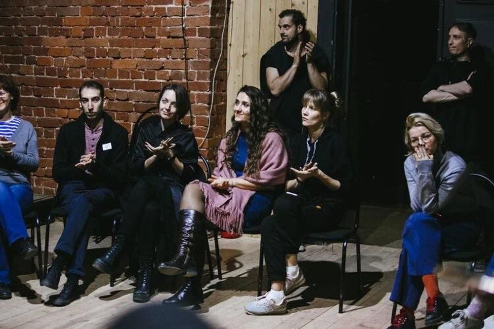 "The third session of ""The Lines of Theater"" is pick up on music - Armenian National Music (anmmedia.am)"