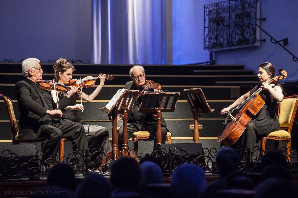 Հայ ժամանակակից կոմպոզիտորների կվարտետները՝ Կոմիտասի անվան քառյակի կատարմամբ - Armenian National Music (anmmedia.am)