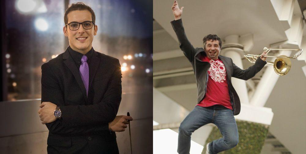 "Santiago Diaz Aguirre and Juan Pardo Gil. ""Armenia unites us"" - Armenian National Music (anmmedia.am)"