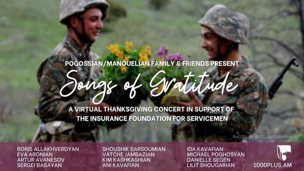 Songs of Gratitude to Armenian soldiers