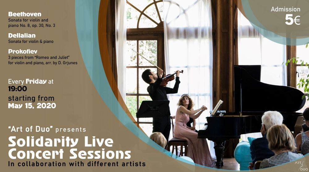 """Art Of Duo"" presents Solidarity Live Concert Sessions - Armenian National Music (anmmedia.am)"
