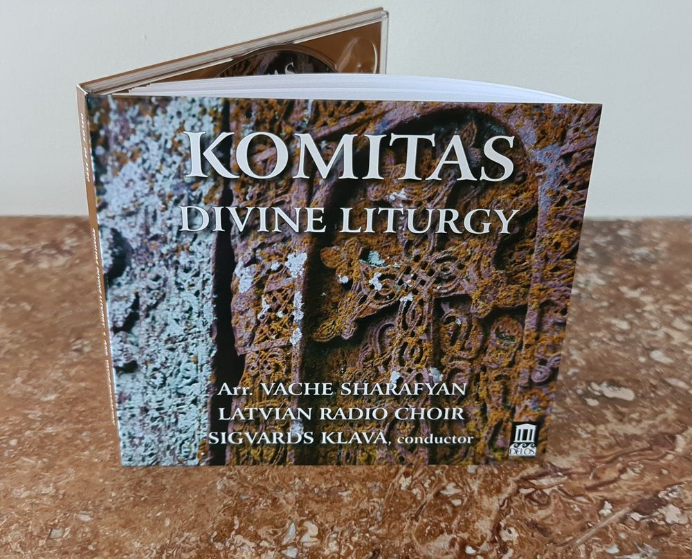 """Exclusive CD of Komitas' """"Divine Liturgy"""" released by Delos  - Armenian National Music (anmmedia.am)"""