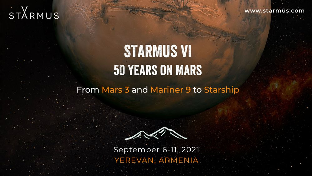 STARMUS VI,  world-scale science and art festival to take place in Armenia - Armenian National Music (anmmedia.am)