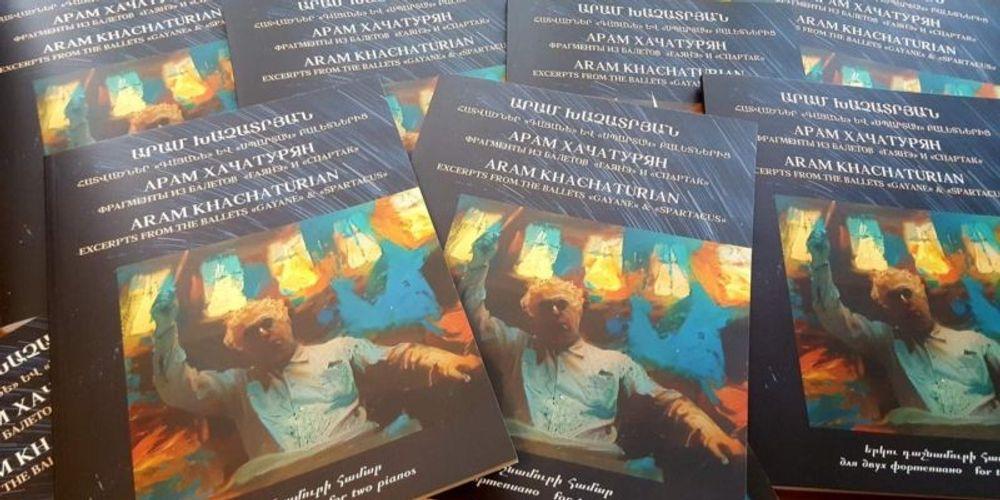 Լույս են տեսել Ա․ Խաչատրյանի հայտնի ստեղծագործություների փոխադրումները դաշնամուրի համար - Armenian National Music (anmmedia.am)