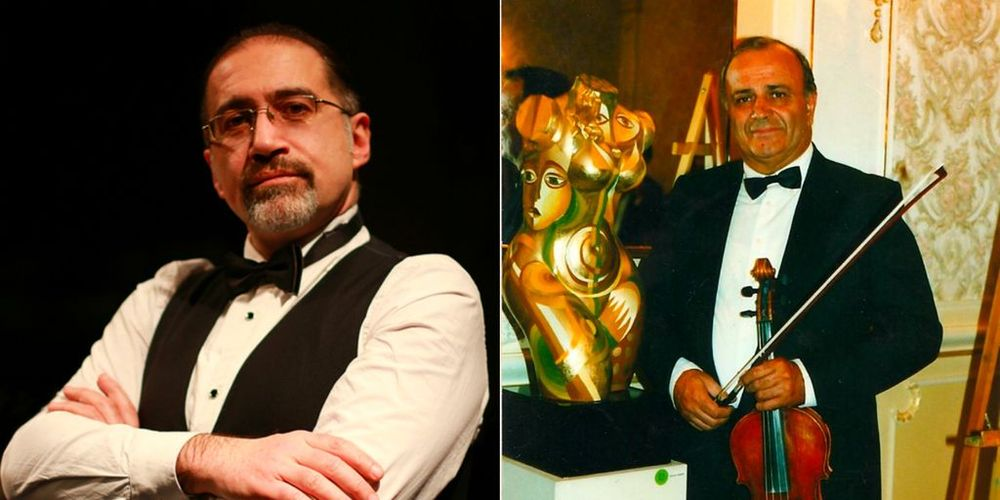 Aram Talalyan and Yasha Papyan awarded the Medal of Gratitude - Armenian National Music (anmmedia.am)