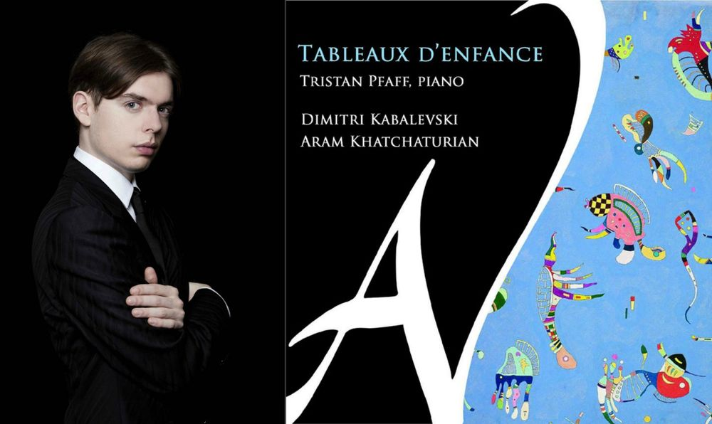 Aram Khachaturian's pieces for young pianist are included on Tristan Pfaff's new CD - Armenian National Music (anmmedia.am)
