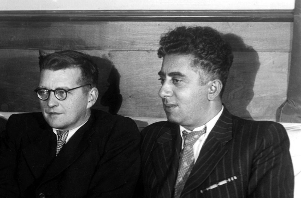 You're not very old, but you have lived a great life: Aram Khachaturian's letter to Dmitri Shostakovich - Armenian National Music (anmmedia.am)