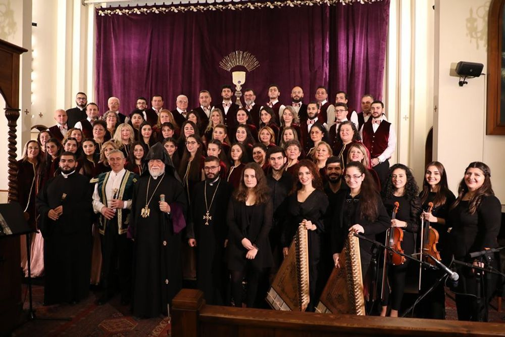 Catholicosate of Ciliciamarked the 150th anniversary of Komitas - Armenian National Music (anmmedia.am)
