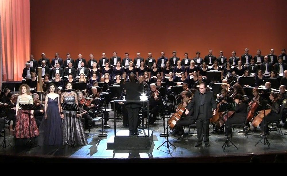 """The Armenian premiere of the concert performance of opera """"Andrea Chenier""""  - Armenian National Music (anmmedia.am)"""