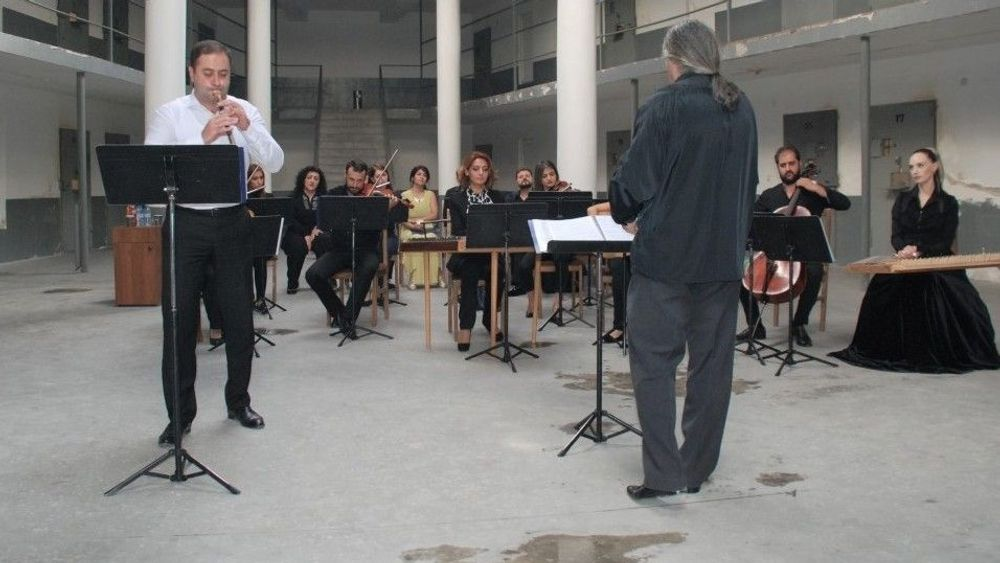 Armenian music performed by Tagharan Ensemble at Criminal-Executive Institution - Armenian National Music (anmmedia.am)
