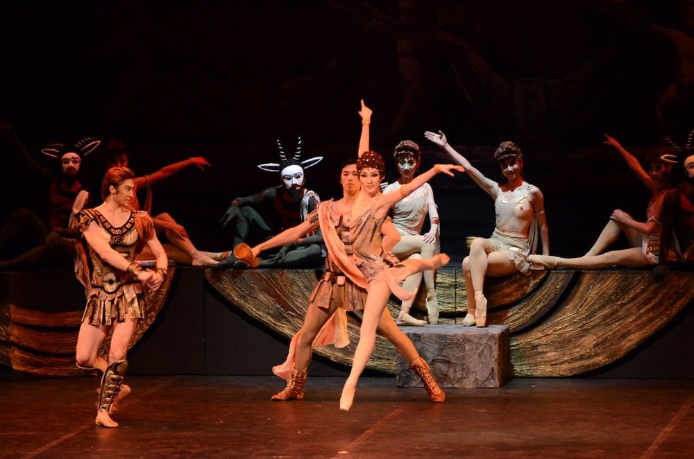 """China Liaoning Ballet Company to launch Russian tour with """"Spartacus""""  - Armenian National Music (anmmedia.am)"""