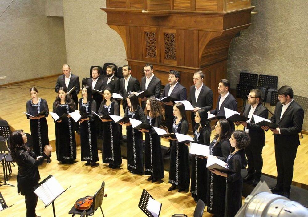 Reporting concert of Yerevan Komitas State Conservatory - Armenian National Music (anmmedia.am)